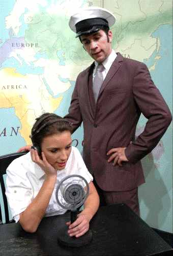 Amelia Earhart - One Act Play - US Coast Guard radioing Amelia Earhart.