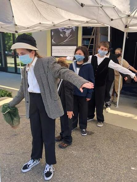 Kids perform AMELIA EARHART during corona virus pandemic