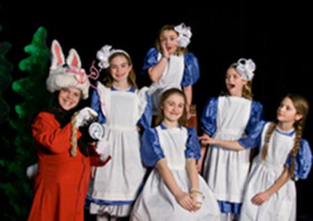 Six Alices in Alice in Christmas Land!