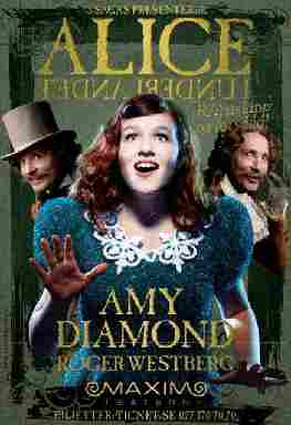 Poster from Maxim Theatre's Professional Tour - Starring Amy Diamond!