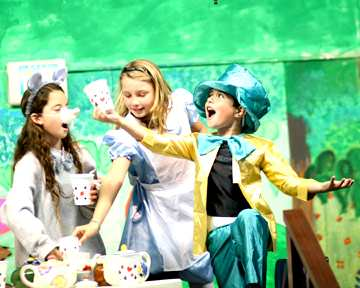 School Play for Children - Alice in Wonderland