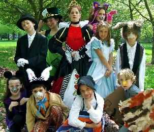 Children's Play -- Alice in Wonderland