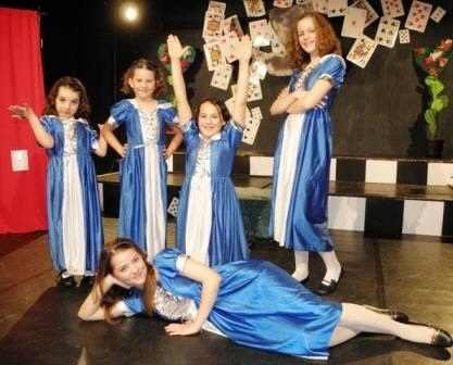 Written for Kids to Perform!  Five Alices!