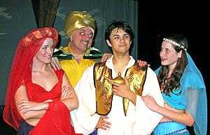 Small Cast Touring Children's Plays - Aladdin and the Magic Lamp