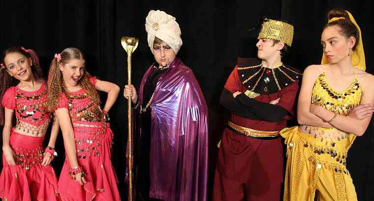 Aladdin for Kids in Middle and High Schools!