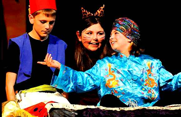 Aladdin Large Cast Play Script For Kids To Perform