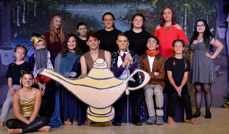 Aladdin Play for Kids to Perform