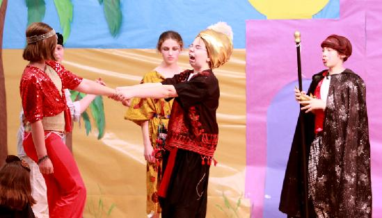 Large Cast Play for Children to Perform!  Aladdin!