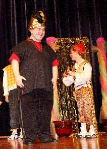 Medium Sized Cast Play for Teenagers, Middle Schools and High Schools!  Aladdin!