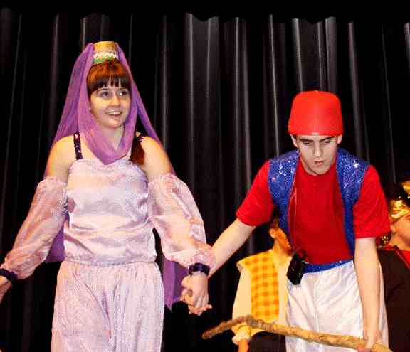 Medium Cast Play for Middle Schools and High Schools!  Aladdin!