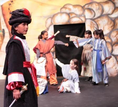 Easy Script for Children to Perform!  Aladdin!
