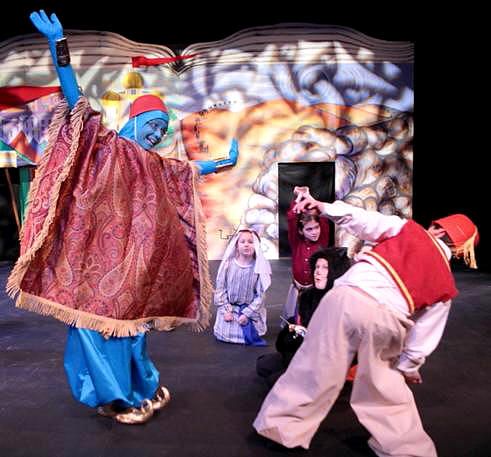 Aladdin!  School Play for Kids to Perform!