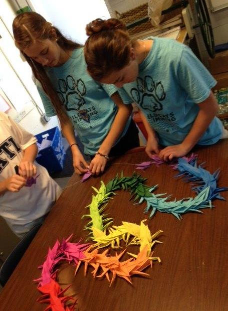 Classroom Activities for 1000 Cranes Play