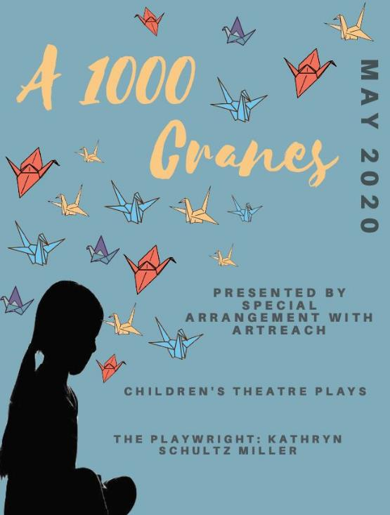 Student poster contest for A Thousand Cranes