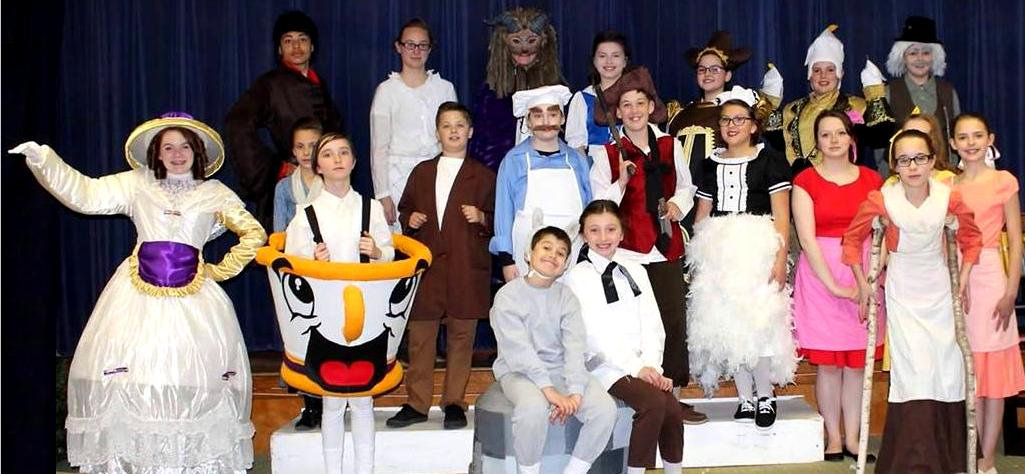 Large Cast Version of Beauty and the Beast
