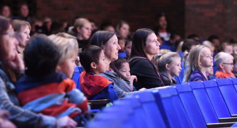 Family audience enjoys Blue Horses by Decatur School for Theatre & Dance