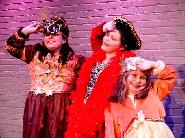 Kids Ham It Up in ArtReach's A Christmas Cinderella!