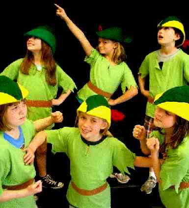 A Christmas Peter Pan!  Musical Christmas Play for Children to Perform!