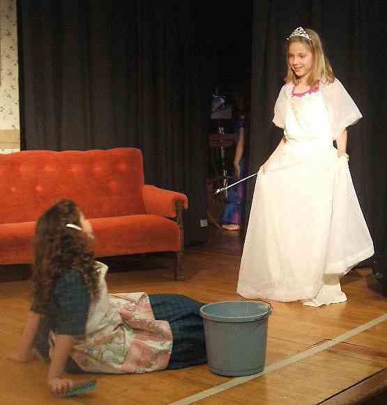 Cinderella is perfect for kids to perform!