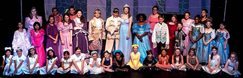 Cinderella Large Cast Play for Kids to Perform