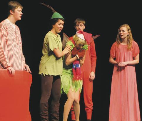 Special Needs Kids in A Christmas Peter Pan!