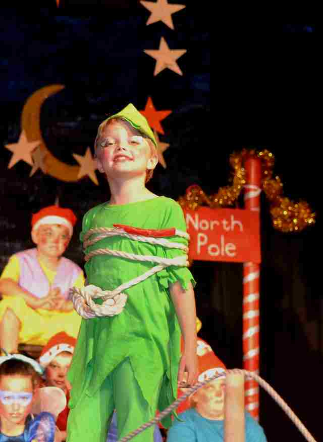 Fun, Musical Play for Kids to Perform!  A Christmas Peter Pan!