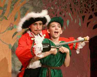 A Christmas Peter Pan!  Children's Musical Christmas Plays for Large Casts of Kids!