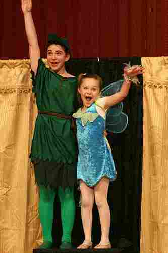 Large Cast Christmas Musicals for Children!  A Christmas Peter Pan!