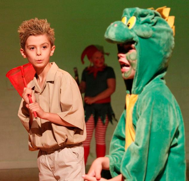 Crocodile steals the show every time!  A Christmas Peter Pan!