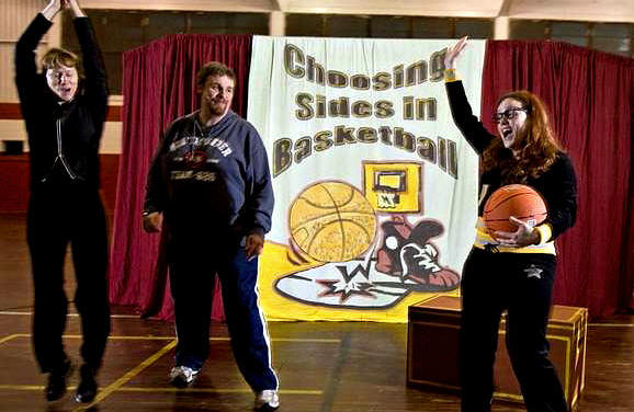 Small Cast Touring Play - Choosing Sides for Basketball