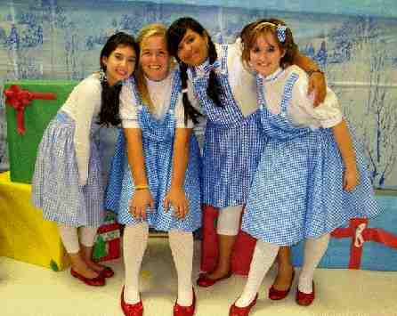 Christmas Wizard of Oz!  Large Cast Christmas Musical for Kids!