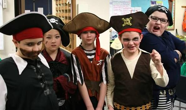 Pirate Fun for Kids!  Treasure Island!