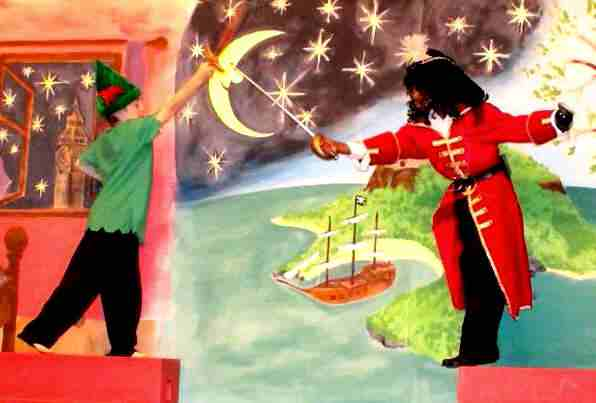 Peter Pan!  Large Cast School Play for Children, Kids to Perform!