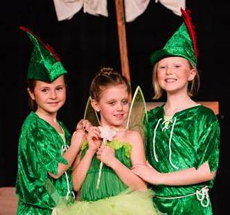 Peter Pan is great for summer camps!