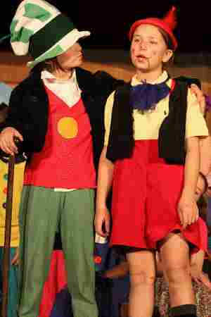 Plays for Kids and Large Cast of Students!  Pinocchio!