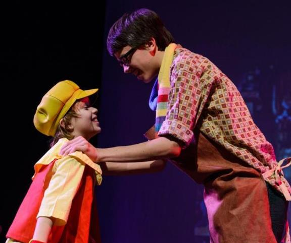 Pinocchio play for kids to perform