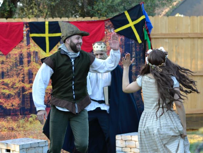 Robin Hood play is funr for families