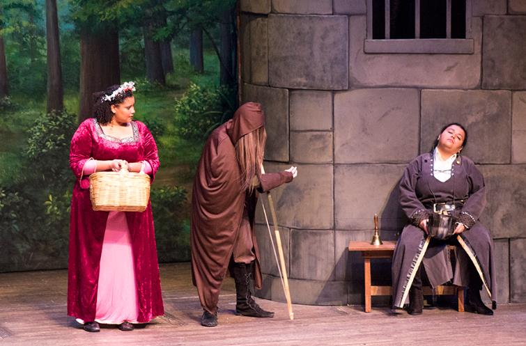 Robin Hood Play Performed by College Theatre Department.