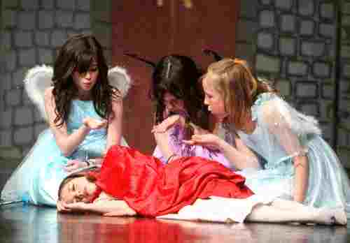 Large Cast Musical Play for Children to Perform!  Sleeping Beauty!