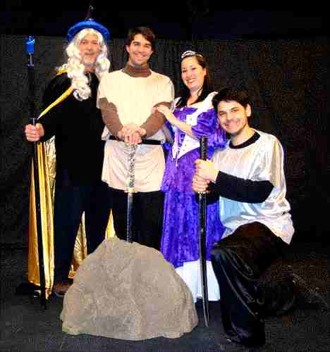 One Act Play for Schools and Theatres!  The Sword in the Stone!