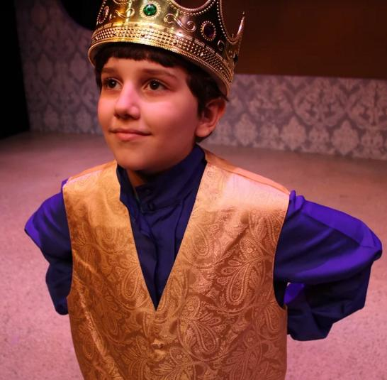 The King in ArtReach's Snow White!