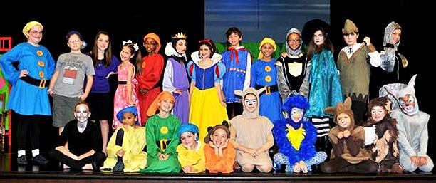 Large Cast School Play for Kids!  Snow White!