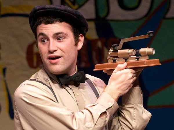 Thomas Edison life on stage!  Fun play for kids and schools!