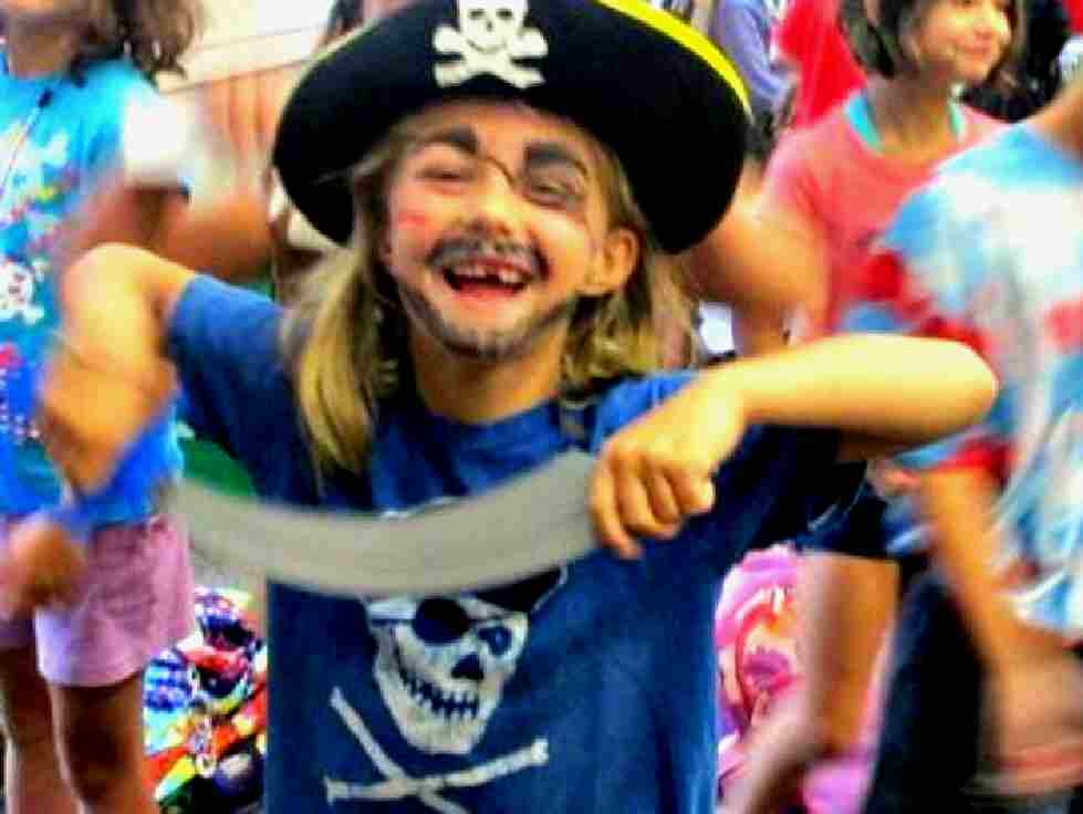 Shy Kids Shine in ArtReach's Treasure Island: Young Pirates of the Caribbean!