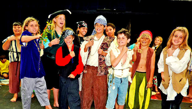 Treasure Island Musical Play for Kids to Perform
