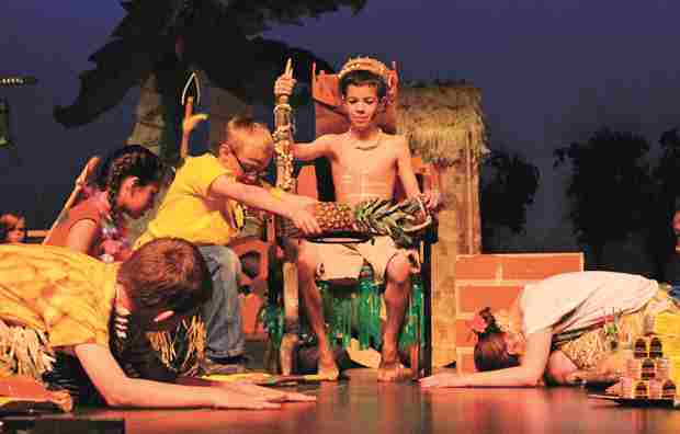 Treasure Island!  Musical Play for Kids to Perform!