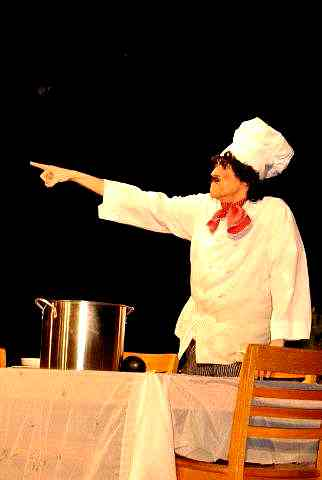 Comic French Chef Philippe!  The Little Mermaid - Musical Play for Kids!
