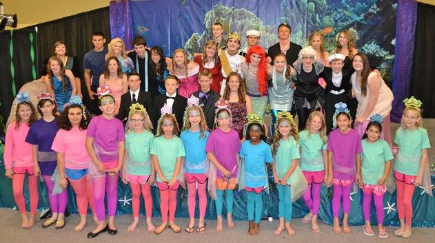 The Little Mermaid - Musical Play from ArtReach for Kids to Perform