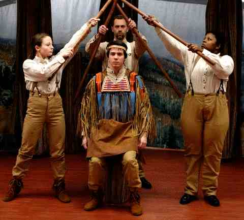 Trail of Tears Play for Kids, Schools and Theatres