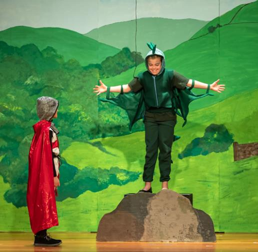 The Reluctant Dragon play for schools